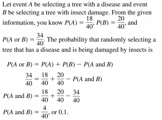 Big Ideas Math Geometry Answers Chapter 12 Probability 12.4 Qu 15