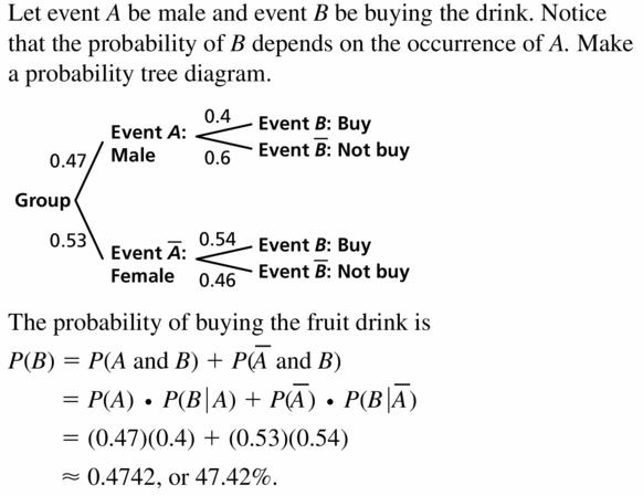 Big Ideas Math Geometry Answers Chapter 12 Probability 12.4 Qu 17