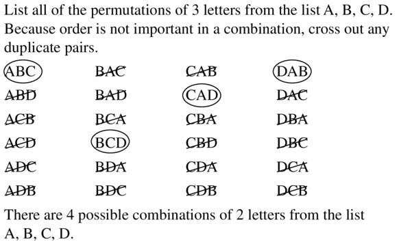 Big Ideas Math Geometry Answers Chapter 12 Probability 12.5 Qu 21