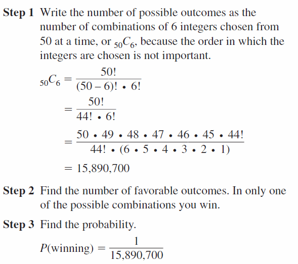 Big Ideas Math Geometry Answers Chapter 12 Probability 12.5 Qu 47