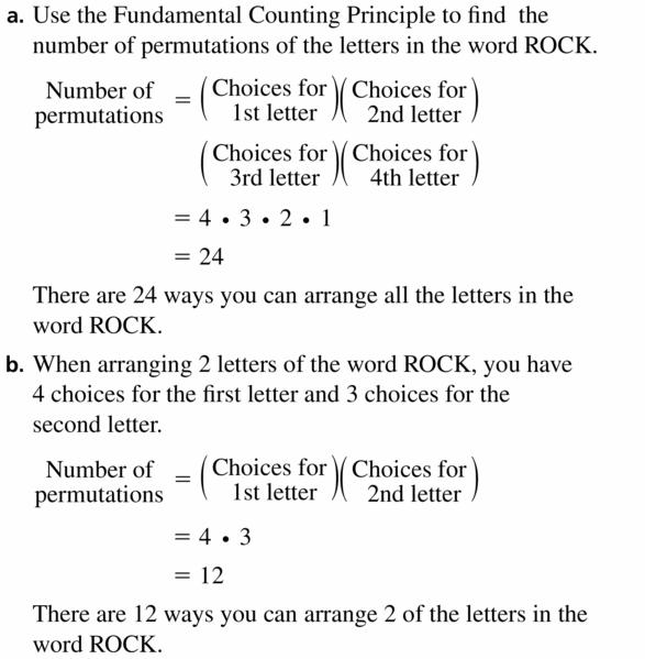 Big Ideas Math Geometry Answers Chapter 12 Probability 12.5 Qu 5