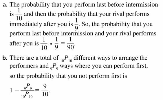 Big Ideas Math Geometry Answers Chapter 12 Probability 12.5 Qu 55