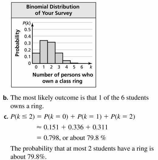 Big Ideas Math Geometry Answers Chapter 12 Probability 12.6 Qu 13.2
