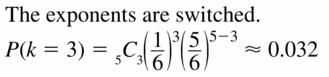 Big Ideas Math Geometry Answers Chapter 12 Probability 12.6 Qu 15