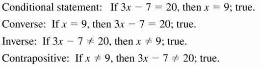 Big Ideas Math Geometry Answers Chapter 2 Reasoning and Proofs 2.1 Question 23