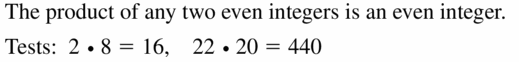 Big Ideas Math Geometry Answers Chapter 2 Reasoning and Proofs 2.2 Question 9