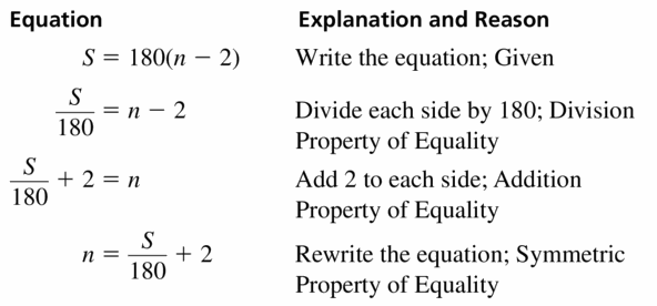 Big Ideas Math Geometry Answers Chapter 2 Reasoning and Proofs 2.4 Question 23