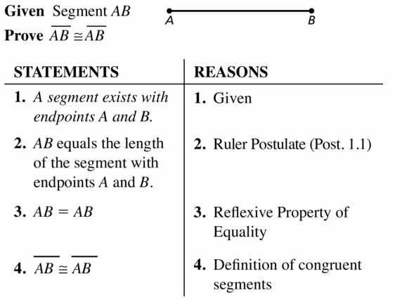 Big Ideas Math Geometry Answers Chapter 2 Reasoning and Proofs 2.5 Question 11