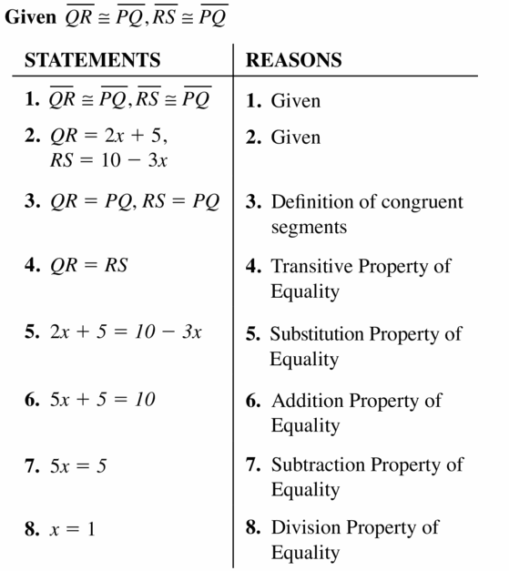 Big Ideas Math Geometry Answers Chapter 2 Reasoning and Proofs 2.5 Question 23