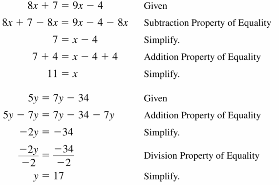 Big Ideas Math Geometry Answers Chapter 2 Reasoning and Proofs 2.6 Question 11