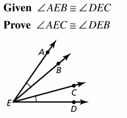 Big Ideas Math Geometry Answers Chapter 2 Reasoning and Proofs 2.6 Question 23.1