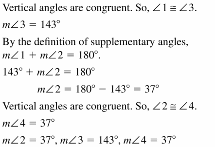 Big Ideas Math Geometry Answers Chapter 2 Reasoning and Proofs 2.6 Question 7