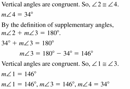 Big Ideas Math Geometry Answers Chapter 2 Reasoning and Proofs 2.6 Question 9