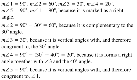 Big Ideas Math Geometry Answers Chapter 3 Parallel and Perpendicular Lines 3.4 a 23
