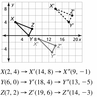 Big Ideas Math Geometry Answers Chapter 4 Transformations 4.1 Question 21