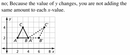 Big Ideas Math Geometry Answers Chapter 4 Transformations 4.1 Question 41