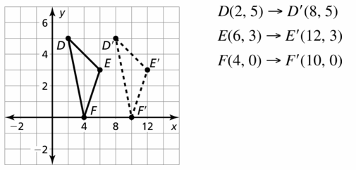 Big Ideas Math Geometry Answers Chapter 4 Transformations 4.1 Question 5