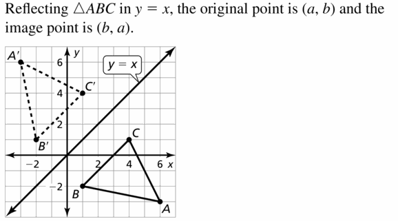 Big Ideas Math Geometry Answers Chapter 4 Transformations 4.2 Question 13