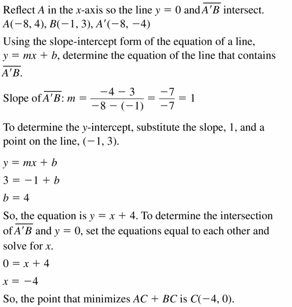 Big Ideas Math Geometry Answers Chapter 4 Transformations 4.2 Question 31