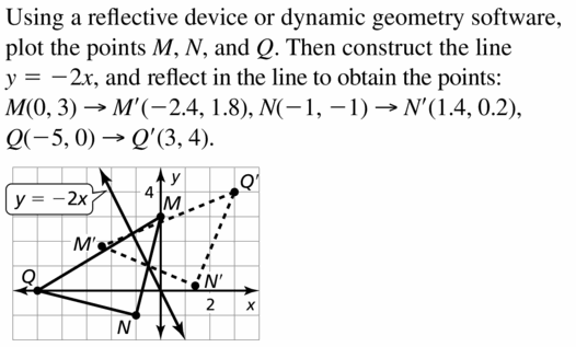 Big Ideas Math Geometry Answers Chapter 4 Transformations 4.2 Question 37