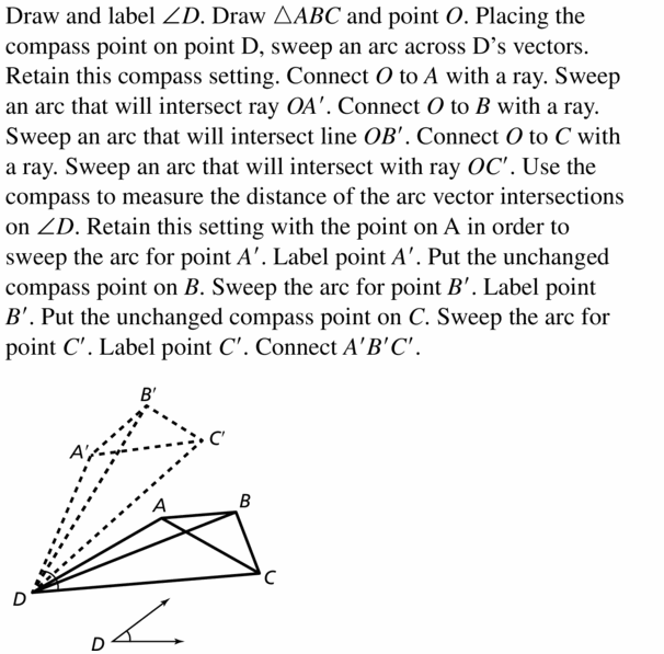 Big Ideas Math Geometry Answers Chapter 4 Transformations 4.3 Question 27