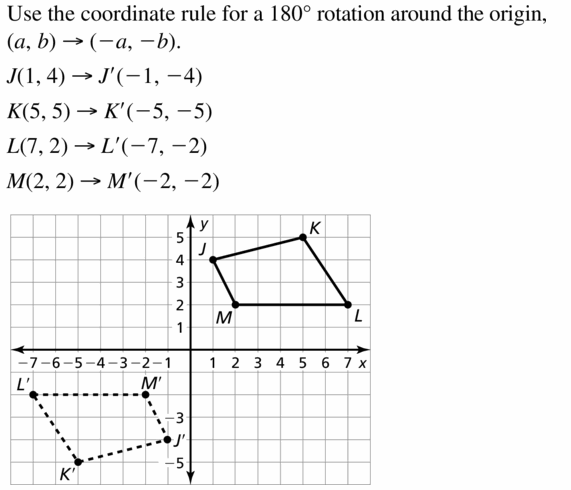 Big Ideas Math Geometry Answers Chapter 4 Transformations 4.3 Question 9