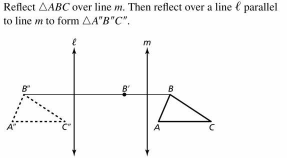 Big Ideas Math Geometry Answers Chapter 4 Transformations 4.4 Question 35