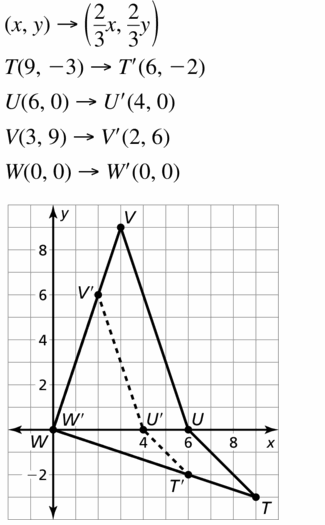Big Ideas Math Geometry Answers Chapter 4 Transformations 4.5 Question 17