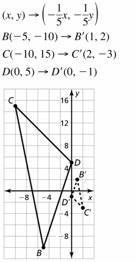 Big Ideas Math Geometry Answers Chapter 4 Transformations 4.5 Question 19