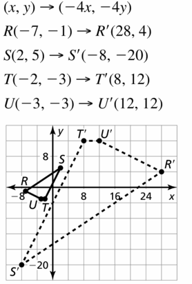 Big Ideas Math Geometry Answers Chapter 4 Transformations 4.5 Question 21