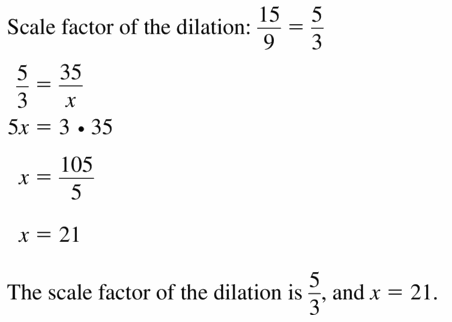 Big Ideas Math Geometry Answers Chapter 4 Transformations 4.5 Question 25