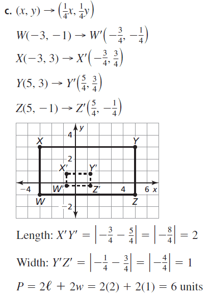 Big Ideas Math Geometry Answers Chapter 4 Transformations 4.5 Question 49.3