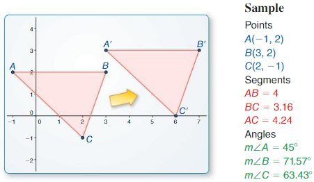 Big Ideas Math Geometry Answers Chapter 4 Transformations 8