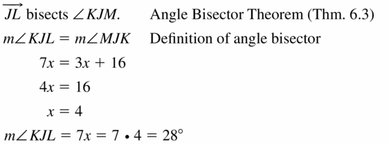 Big Ideas Math Geometry Answers Chapter 6 Relationships Within Triangles 6.1 Question 13