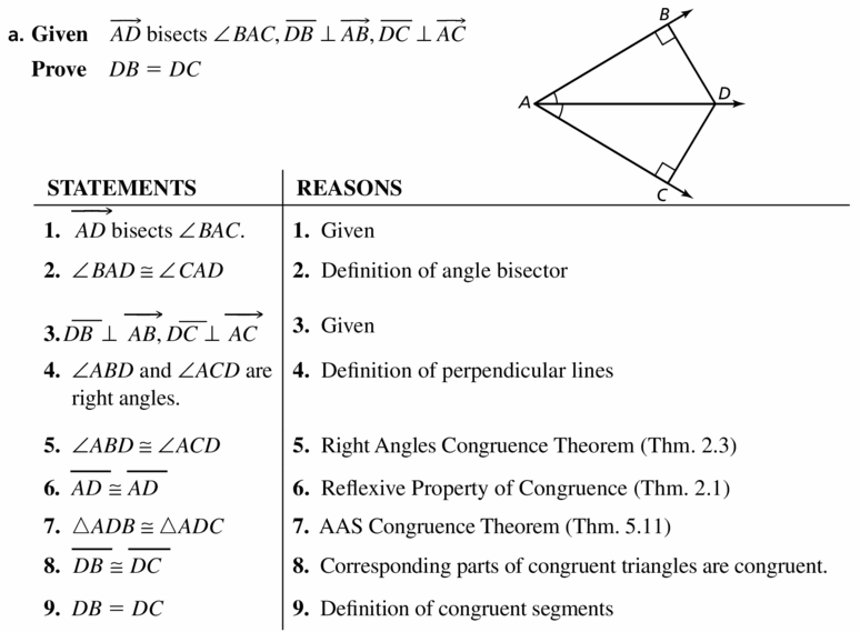 Big Ideas Math Geometry Answers Chapter 6 Relationships Within Triangles 6.1 Question 33.1