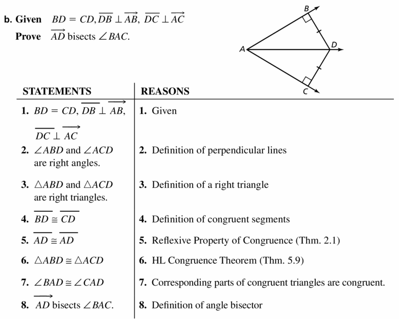 Big Ideas Math Geometry Answers Chapter 6 Relationships Within Triangles 6.1 Question 33.2