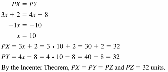 Big Ideas Math Geometry Answers Chapter 6 Relationships Within Triangles 6.2 Question 15