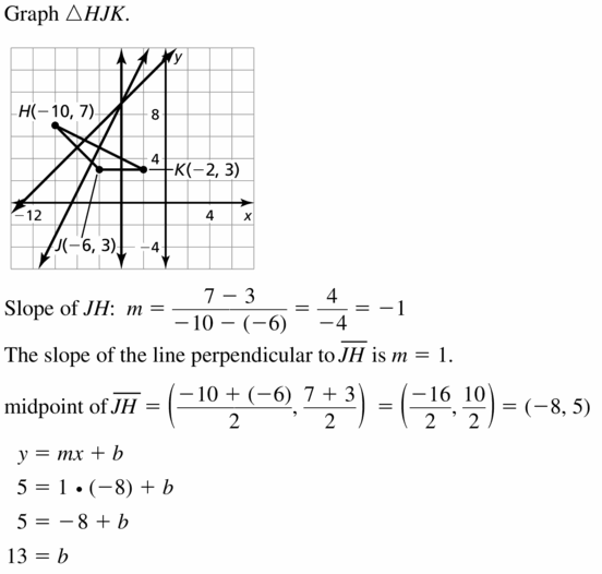 Big Ideas Math Geometry Answers Chapter 6 Relationships Within Triangles 6.2 Question 9.1