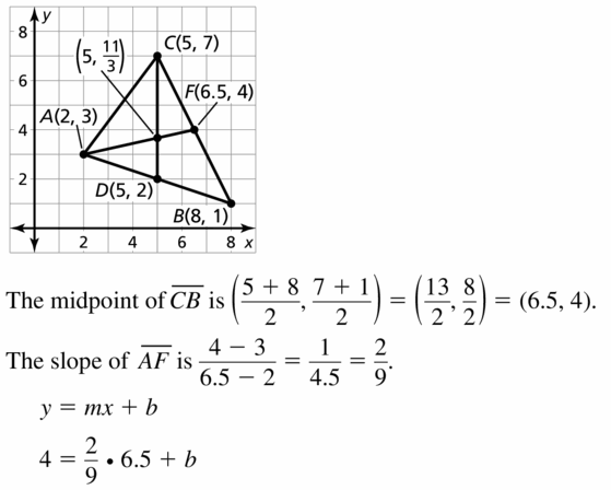 Big Ideas Math Geometry Answers Chapter 6 Relationships Within Triangles 6.3 Question 15.1