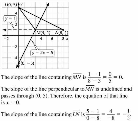 Big Ideas Math Geometry Answers Chapter 6 Relationships Within Triangles 6.3 Question 19.1