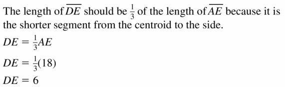 Big Ideas Math Geometry Answers Chapter 6 Relationships Within Triangles 6.3 Question 27