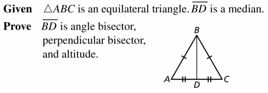 Big Ideas Math Geometry Answers Chapter 6 Relationships Within Triangles 6.3 Question 51.1