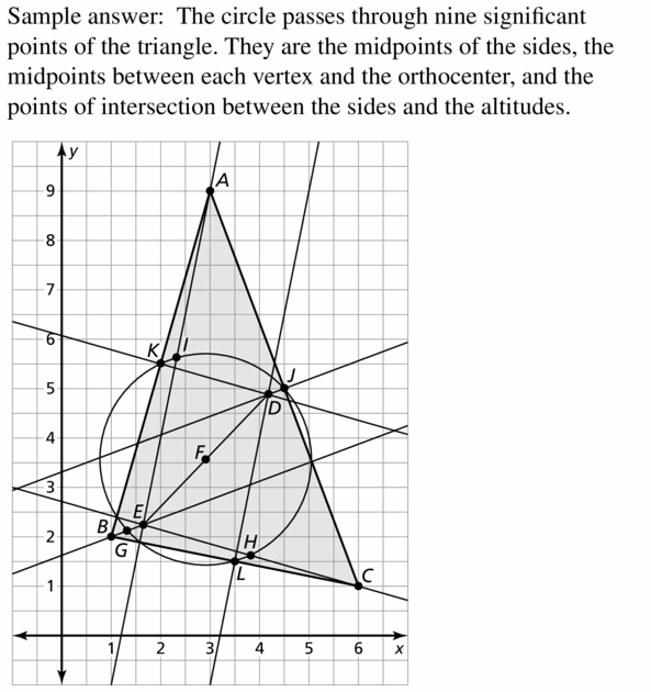 Big Ideas Math Geometry Answers Chapter 6 Relationships Within Triangles 6.3 Question 53