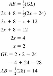 Big Ideas Math Geometry Answers Chapter 6 Relationships Within Triangles 6.4 Question 17