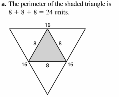 Big Ideas Math Geometry Answers Chapter 6 Relationships Within Triangles 6.4 Question 25.1