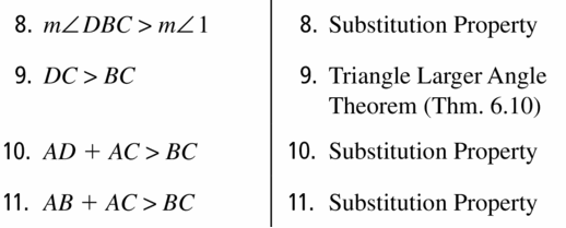 Big Ideas Math Geometry Answers Chapter 6 Relationships Within Triangles 6.5 Question 47.3