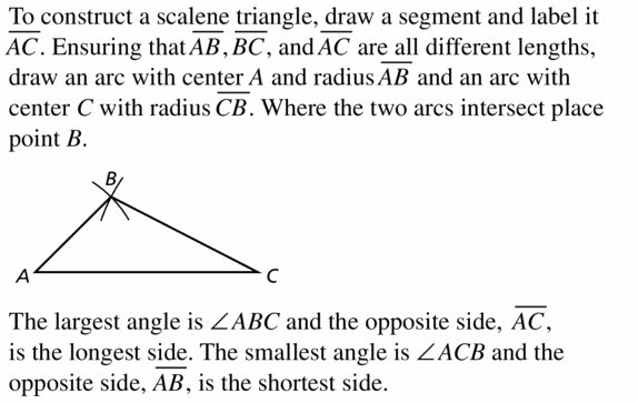 Big Ideas Math Geometry Answers Chapter 6 Relationships Within Triangles 6.5 Question 9