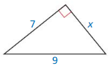 Big Ideas Math Geometry Answers Chapter 9 Right Triangles and Trigonometry 16