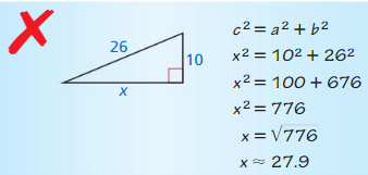 Big Ideas Math Geometry Answers Chapter 9 Right Triangles and Trigonometry 18