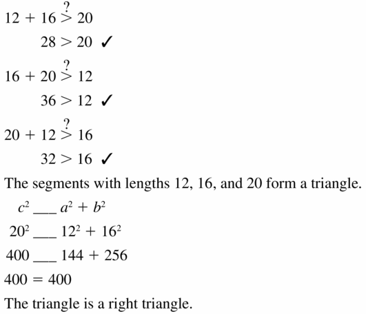 Big Ideas Math Geometry Answers Chapter 9 Right Triangles and Trigonometry 9.1 Ans 23